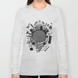 Drums & Percussion Long Sleeve T-shirt