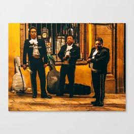 ¡La Musica No Mas! Canvas Print