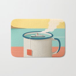 Cup of sea Bath Mat