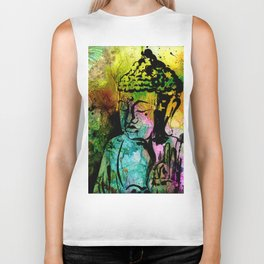 Buddha Love No.11-2018 by Kathy Morton Sta Biker Tank