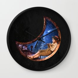 Lullaby for the Stars Wall Clock