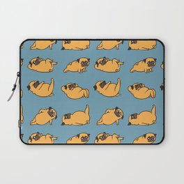 Total Pug Abs Workout Laptop Sleeve