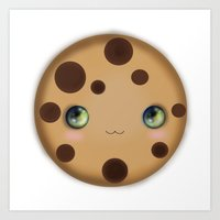 cookie Art Prints featuring Cookie by Ilya Konyukhov