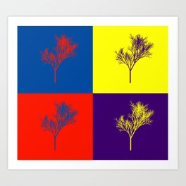 Tree Four Art Print