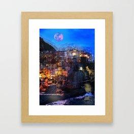 Dream Holidays Framed Art Print