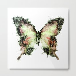 Toner Butterfly Metal Print