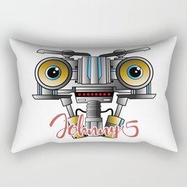 Johnny 5 Short Circuit Rectangular Pillow
