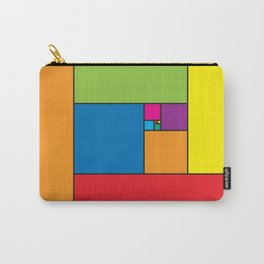 Fibonacci Patern Carry-All Pouch