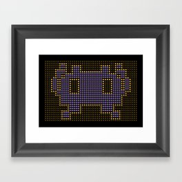 Space Invader Framed Art Print