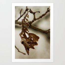 Skeletal remains Art Print