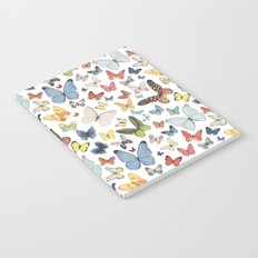 Watercolor Butterflies Notebook