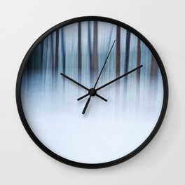 The Mysterious Forest Wall Clock