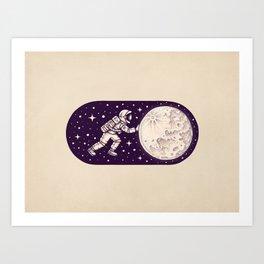Space on Art Print