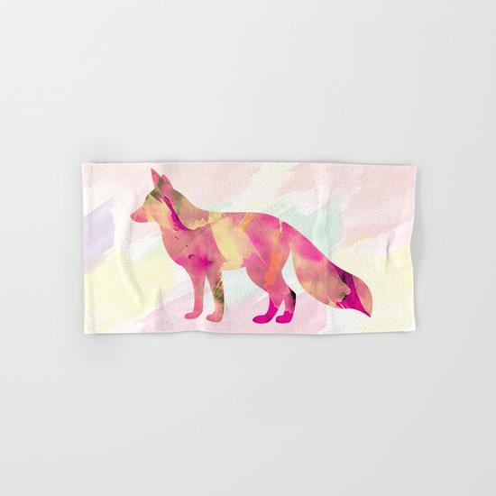 Abstract Fox Hand & Bath Towel
