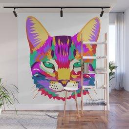 art cat Wall Mural