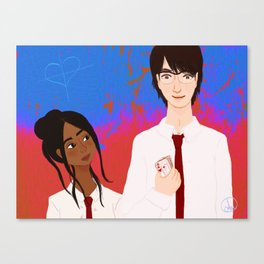 Sophia and Joshua Canvas Print