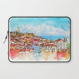 Lisbon, Portugal Laptop Sleeve