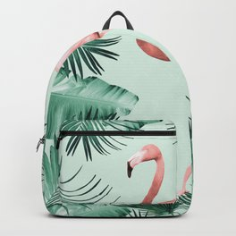 Flamingo in the Jungle #1 #tropical #decor #art #society6 Backpack