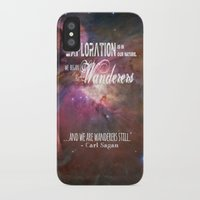 """sagan iPhone & iPod Cases featuring """"Exploration is in Our Nature"""" Carl Sagan Quote by kishbish"""
