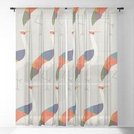 Brolga Sheer Curtain