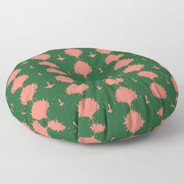 Tropical Rorschach Floor Pillow