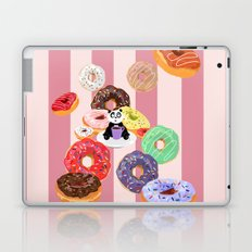 Panda & Donuts Laptop & iPad Skin