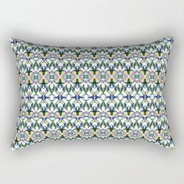 Fancy Details Rectangular Pillow