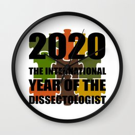 2020 The International Year Of The Dissectologist Wall Clock