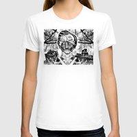 poe T-shirts featuring Poe by Theo Szczepanski