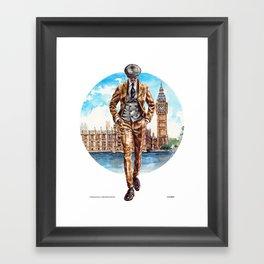 The London Man Framed Art Print