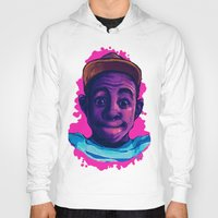 tyler the creator Hoodies featuring Tyler The Creator II (Pink) by ASHUR Collective™