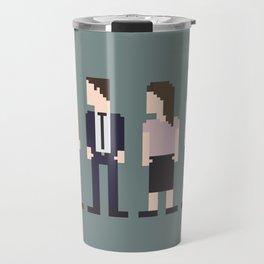 The Office 8-Bit Travel Mug
