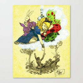 'Dreaming Alice' by Kevin C. Steele Canvas Print