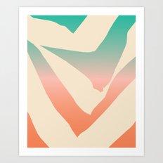 P.S. Cream Art Print