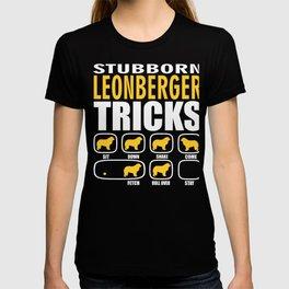 Stubborn Leonberger Dog Tricks Gift  T-shirt