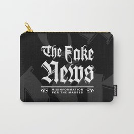 The Fake News Header Carry-All Pouch