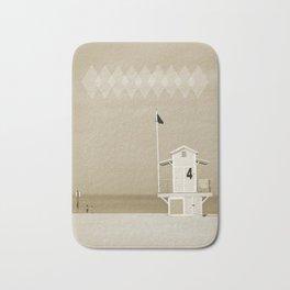 Lifeguard tower Bath Mat