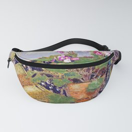 12,000pixel-500dpi - Edouard Vuillard - Pot of Flowers - Digital Remastered Edition Fanny Pack
