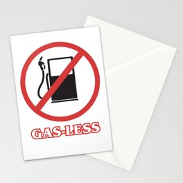 Funny Biker MTB Bicycle Awesome Cyclist Gas Less Stationery Cards