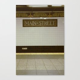 Main Street New York Canvas Print