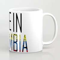 colombia Mugs featuring Made In Colombia by VirgoSpice