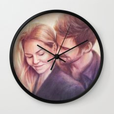 Something Smells Delicious Wall Clock