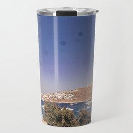 Burning Mykonos Travel Mug