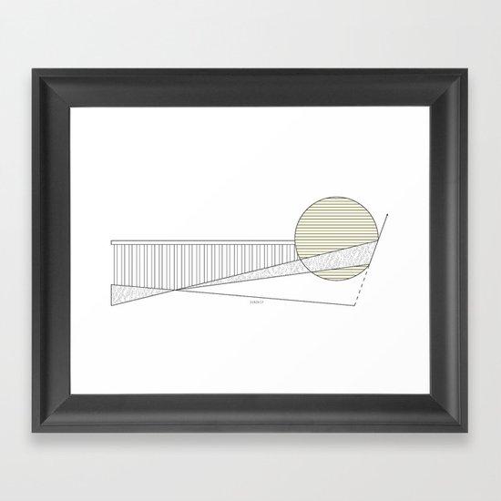 Sunship Framed Art Print