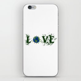 Earth Day Love Mother Earth iPhone Skin