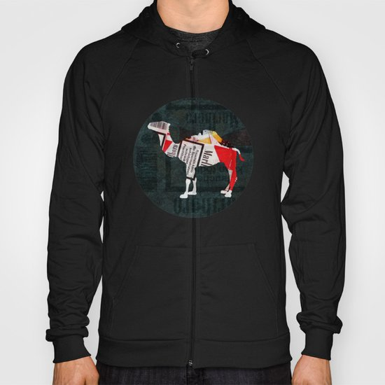 Camel Collage 4F Hoody