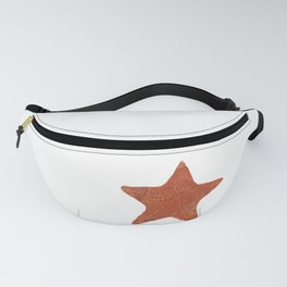Watercolor Starfish Fanny Pack