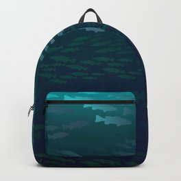 Fish Under The Storm Backpack