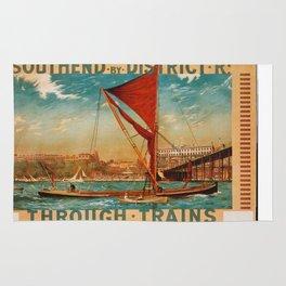 Vintage poster - Southend Rug