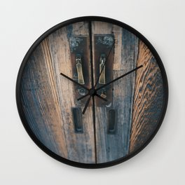 grain Wall Clock